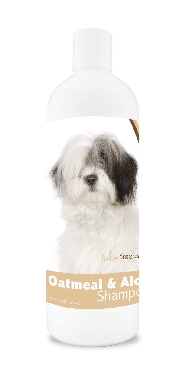 Healthy Breeds 840235114093 16 oz 14.5 lbs Old English Sheepdog Oatmeal Shampoo with Aloe
