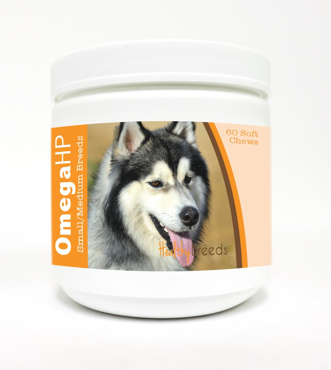 Healthy Breeds 840235114482 Omega-3 Fatty Acids Skin & Coat Soft Chews