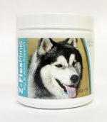 Healthy Breeds 840235114550 Siberian Husky Z-Flex Minis Hip & Joint Support Soft Chews - 60 Count