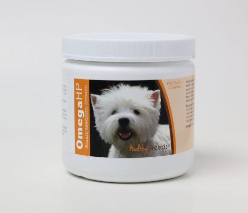 Healthy Breeds 840235116578 Omega-3 Fatty Acids Skin & Coat Soft Chews