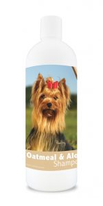Healthy Breeds 840235116837 16 oz Yorkshire Terrier Aloe & Oatmeal Shampoo