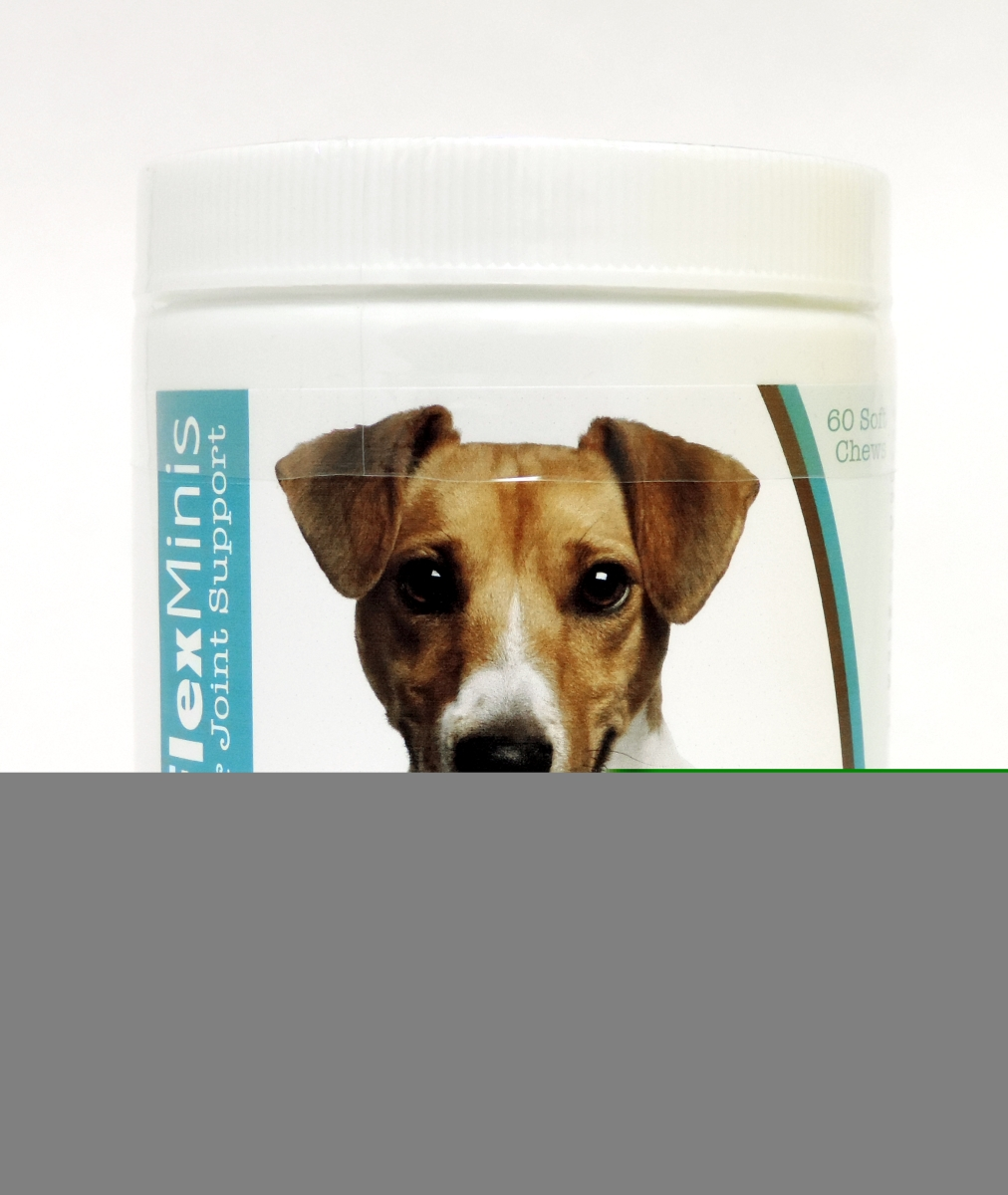 Healthy Breeds 840235117674 Jack Russell Terrier Z-Flex Minis Hip & Joint Support Soft Chews 60 Count