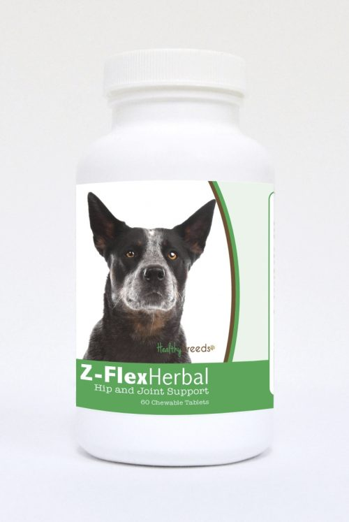 Healthy Breeds 840235118503 Australian Cattle Dog Natural Joint Support Chewable Tablets 60 Count