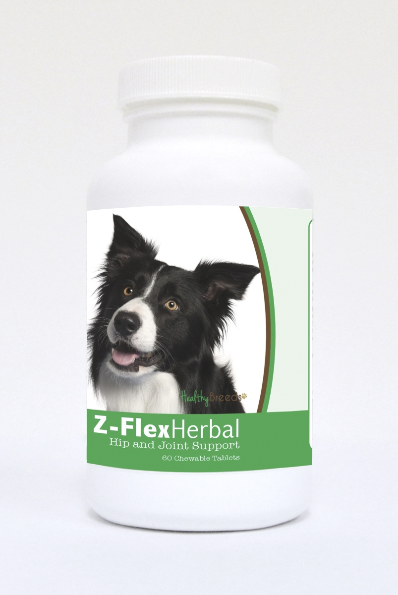 Healthy Breeds 840235118640 Border Collie Natural Joint Support Chewable Tablets - 60 Count
