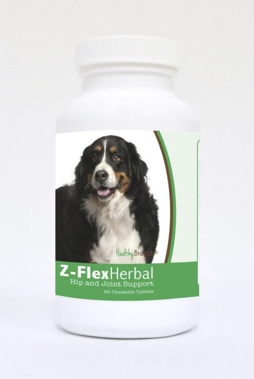 Healthy Breeds 840235119067 Bernese Mountain Dog Natural Joint Support Chewable Tablets - 60 Count