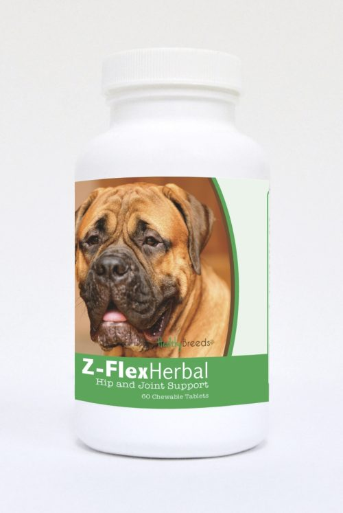 Healthy Breeds 840235119241 Bullmastiff Natural Joint Support Chewable Tablets - 60 Count