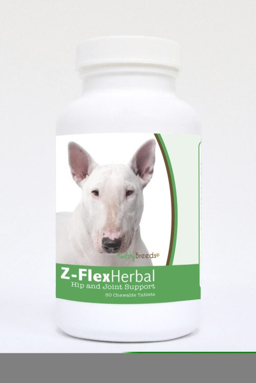 Healthy Breeds 840235119500 Bull Terrier Natural Joint Support Chewable Tablets - 60 Count