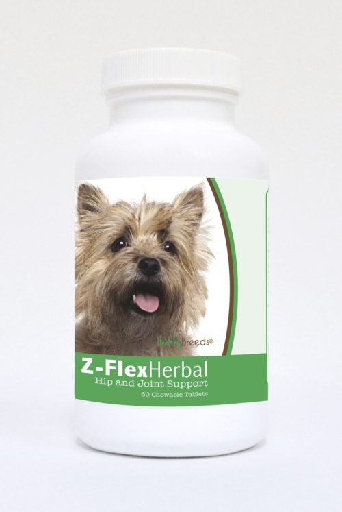 Healthy Breeds 840235119586 Cairn Terrier Natural Joint Support Chewable Tablets - 60 Count