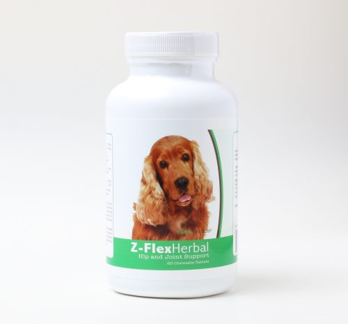 Healthy Breeds 840235120193 Cocker Spaniel Natural Joint Support Chewable Tablets - 60 Count