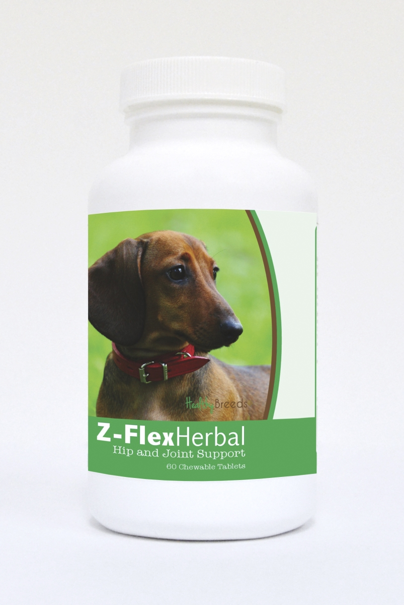 Healthy Breeds 840235120254 Dachshund Natural Joint Support Chewable Tablets - 60 Count