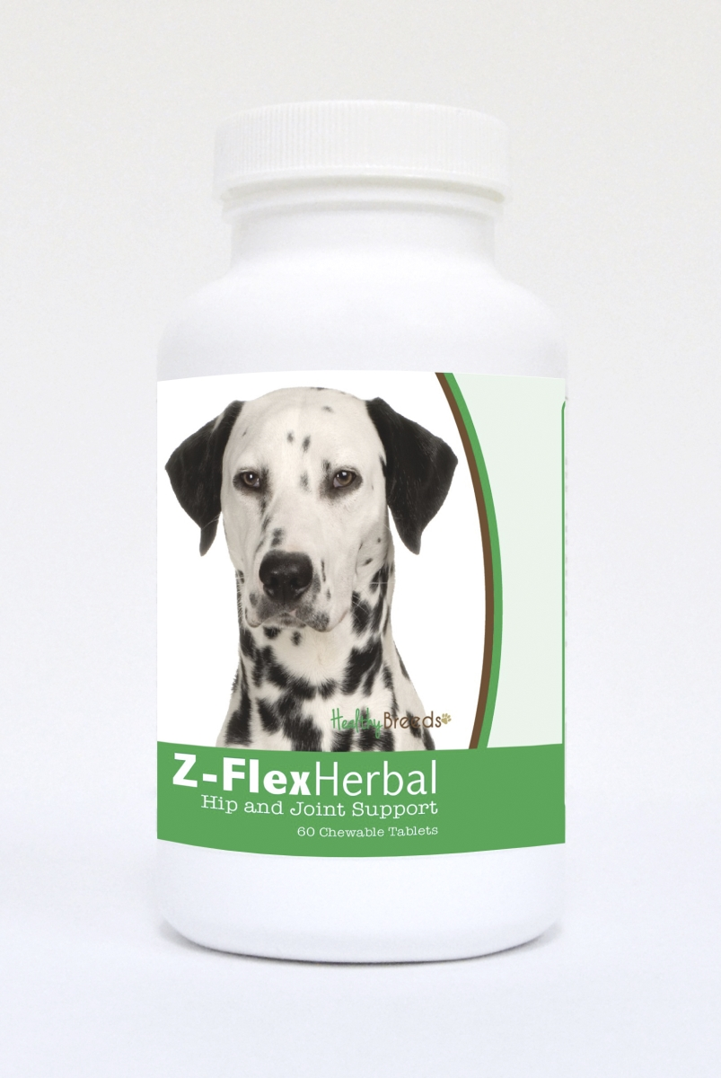 Healthy Breeds 840235120308 Dalmatian Natural Joint Support Chewable Tablets - 60 Count