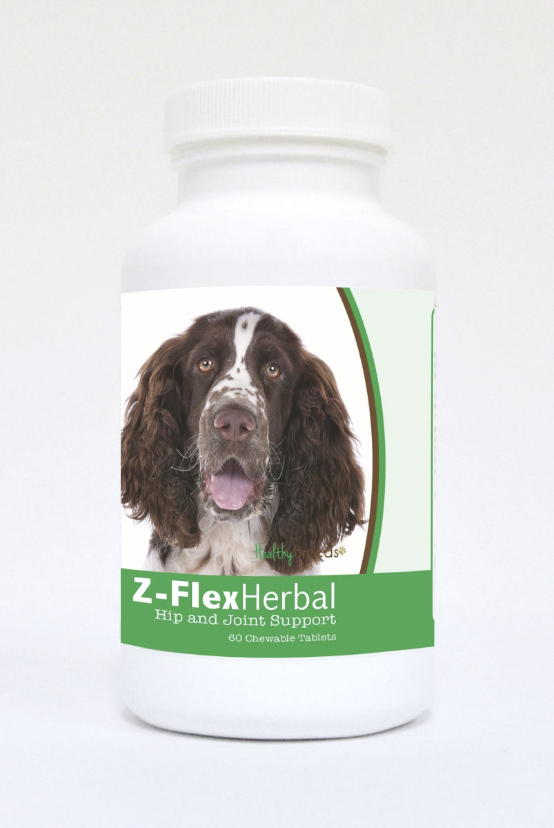 Healthy Breeds 840235121008 English Springer Spaniel Natural Joint Support Chewable Tablets - 60 Count