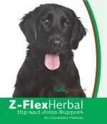 Healthy Breeds 840235121190 Flat Coated Retriever Natural Joint Support Chewable Tablets - 60 Count
