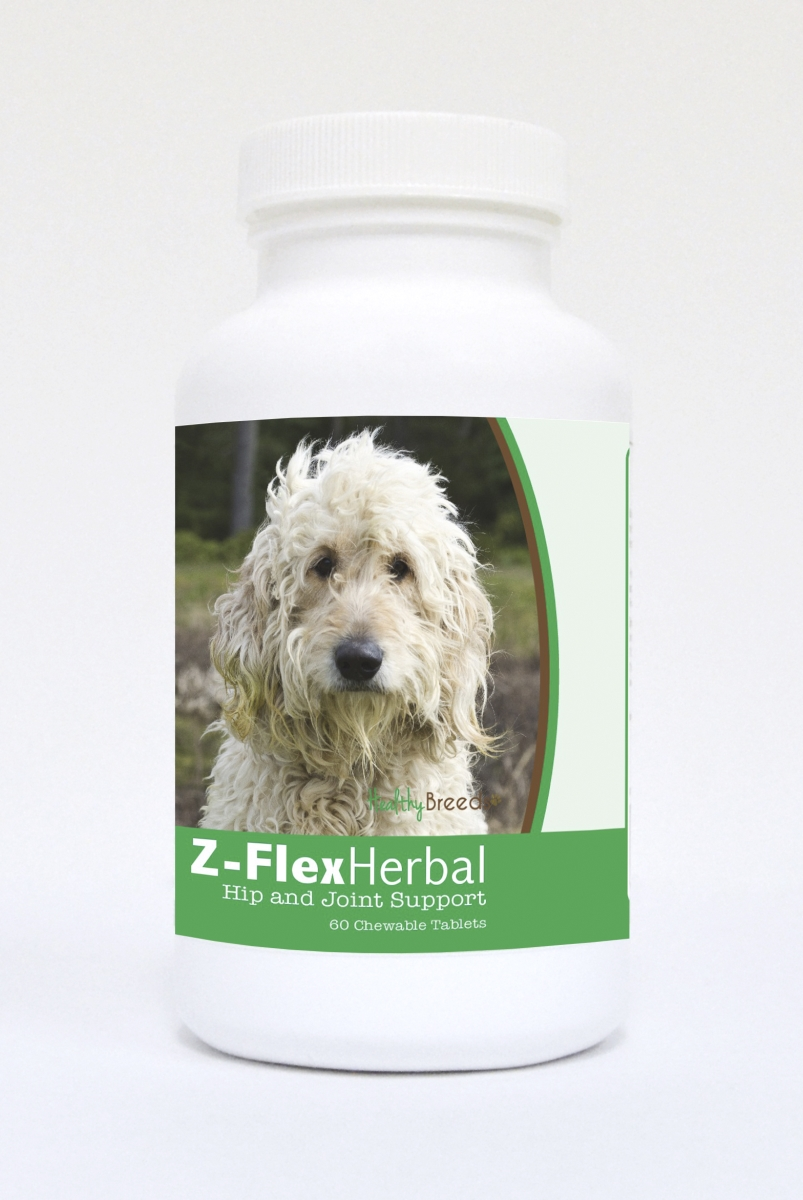 Healthy Breeds 840235121275 Goldendoodle Natural Joint Support Chewable Tablets - 60 Count