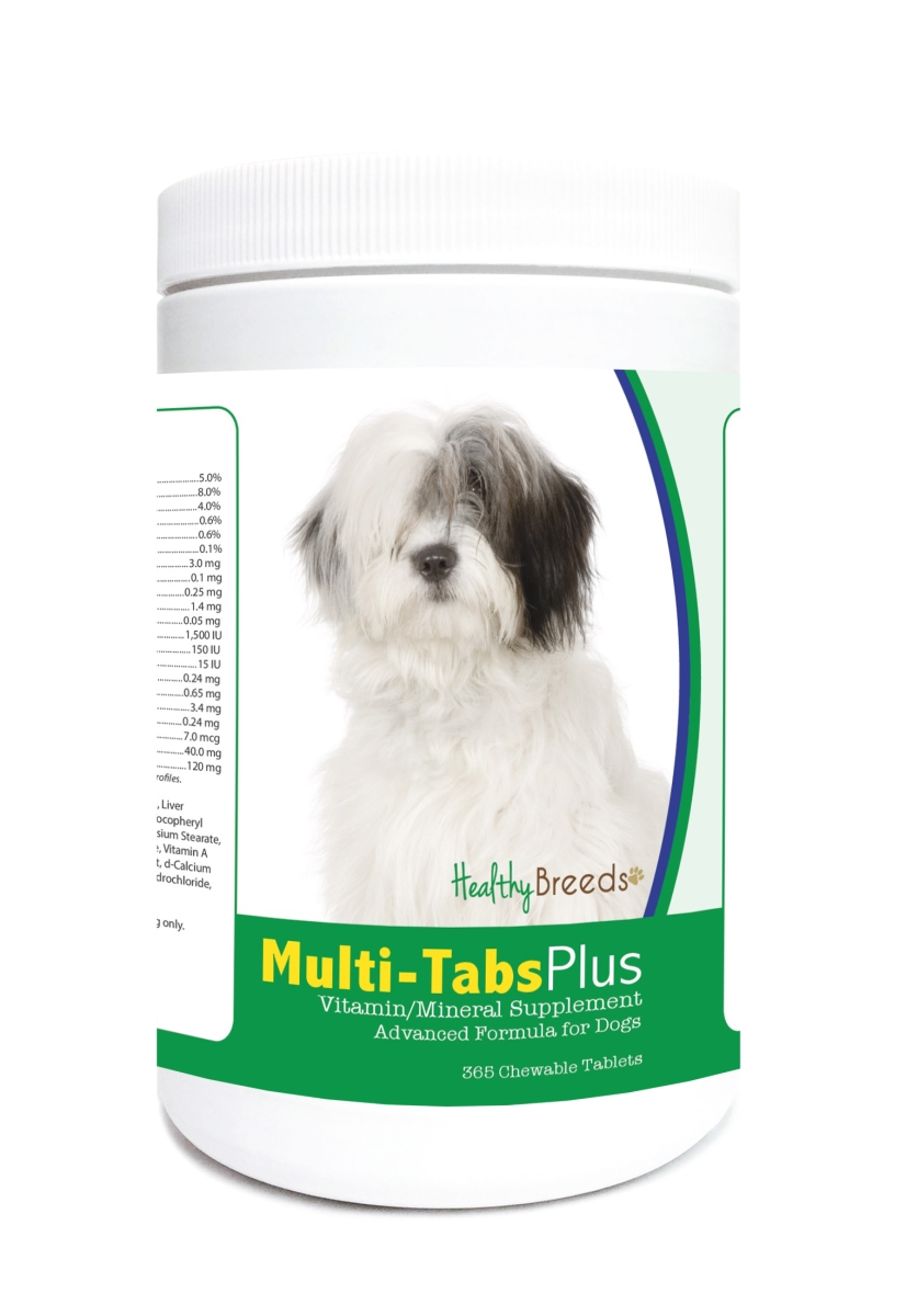 Healthy Breeds 840235121848 Old English Sheepdog Multi-Tabs Plus Chewable Tablets - 365 Count