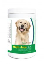 Healthy Breeds 840235121879 Golden Retriever Multi-Tabs Plus Chewable Tablets - 365 Count