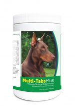 Healthy Breeds 840235121886 Doberman Pinscher Multi-Tabs Plus Chewable Tablets - 365 Count