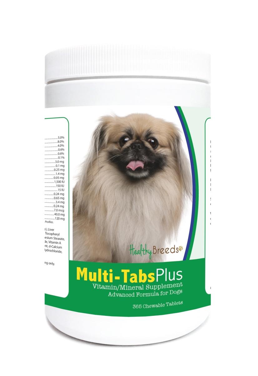 Healthy Breeds 840235121909 Pekingese Multi-Tabs Plus Chewable Tablets - 365 Count