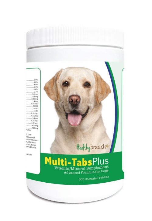 Healthy Breeds 840235121923 Labrador Retriever Multi-Tabs Plus Chewable Tablets - 365 Count