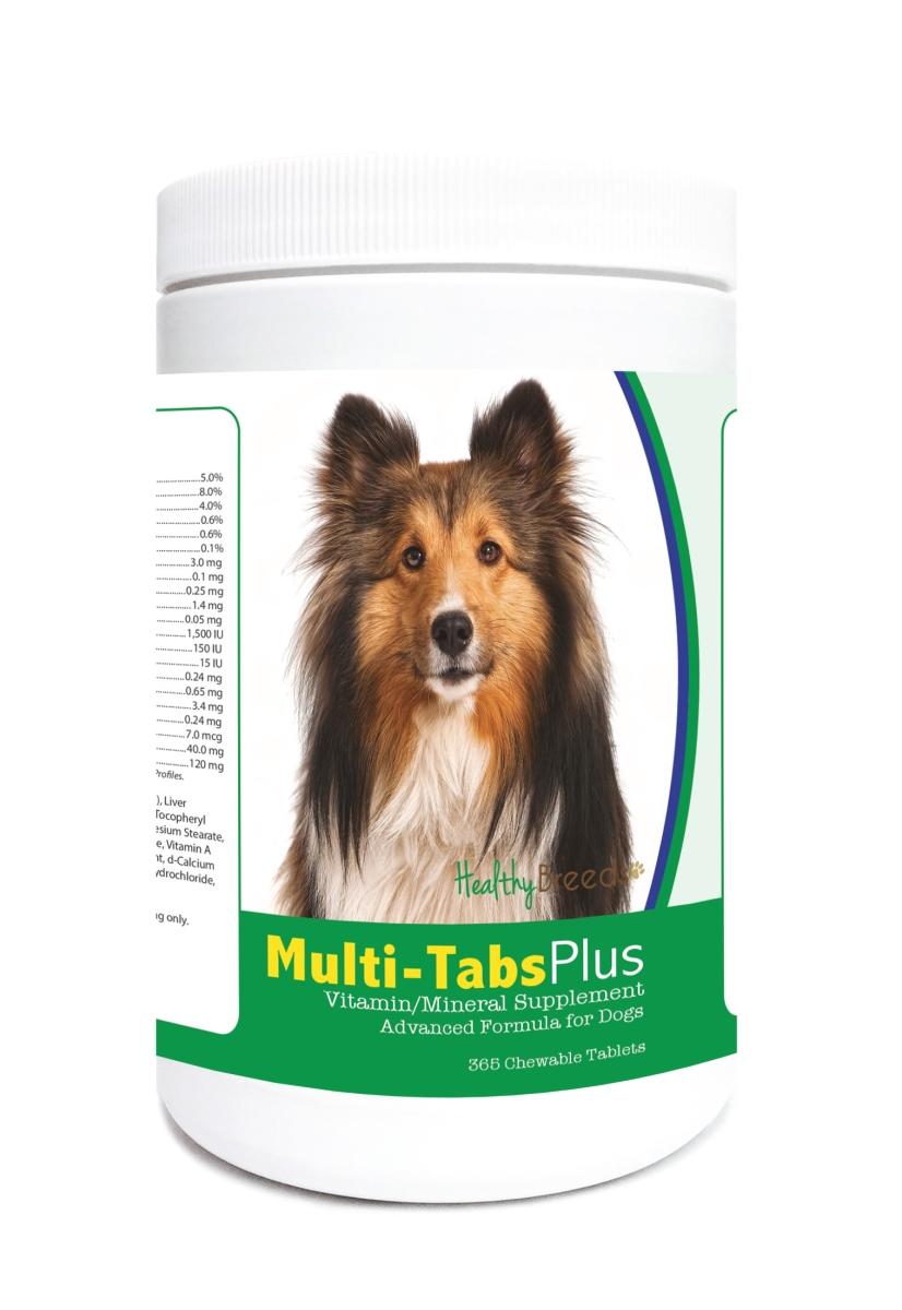 Healthy Breeds 840235122296 Shetland Sheepdog Multi-Tabs Plus Chewable Tablets - 365 Count