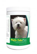 Healthy Breeds 840235122418 West Highland White Terrier Multi-Tabs Plus Chewable Tablets - 365 Count