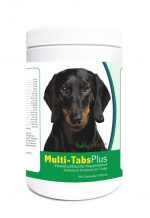 Healthy Breeds 840235122685 Dachshund Multi-Tabs Plus Chewable Tablets - 365 Count