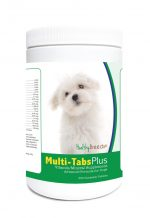 Healthy Breeds 840235122708 Maltese Multi-Tabs Plus Chewable Tablets - 365 Count