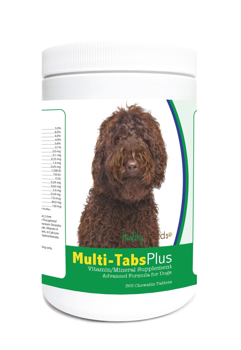 Healthy Breeds 840235122906 Labradoodle Multi-Tabs Plus Chewable Tablets - 365 Count