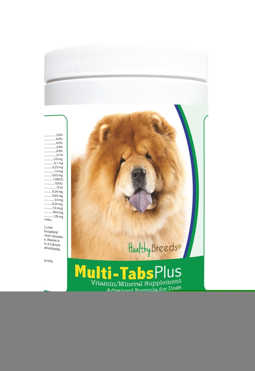 Healthy Breeds 840235122937 Chow Chow Multi-Tabs Plus Chewable Tablets - 365 Count