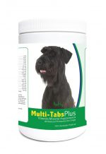 Healthy Breeds 840235122968 Giant Schnauzer Multi-Tabs Plus Chewable Tablets - 365 Count