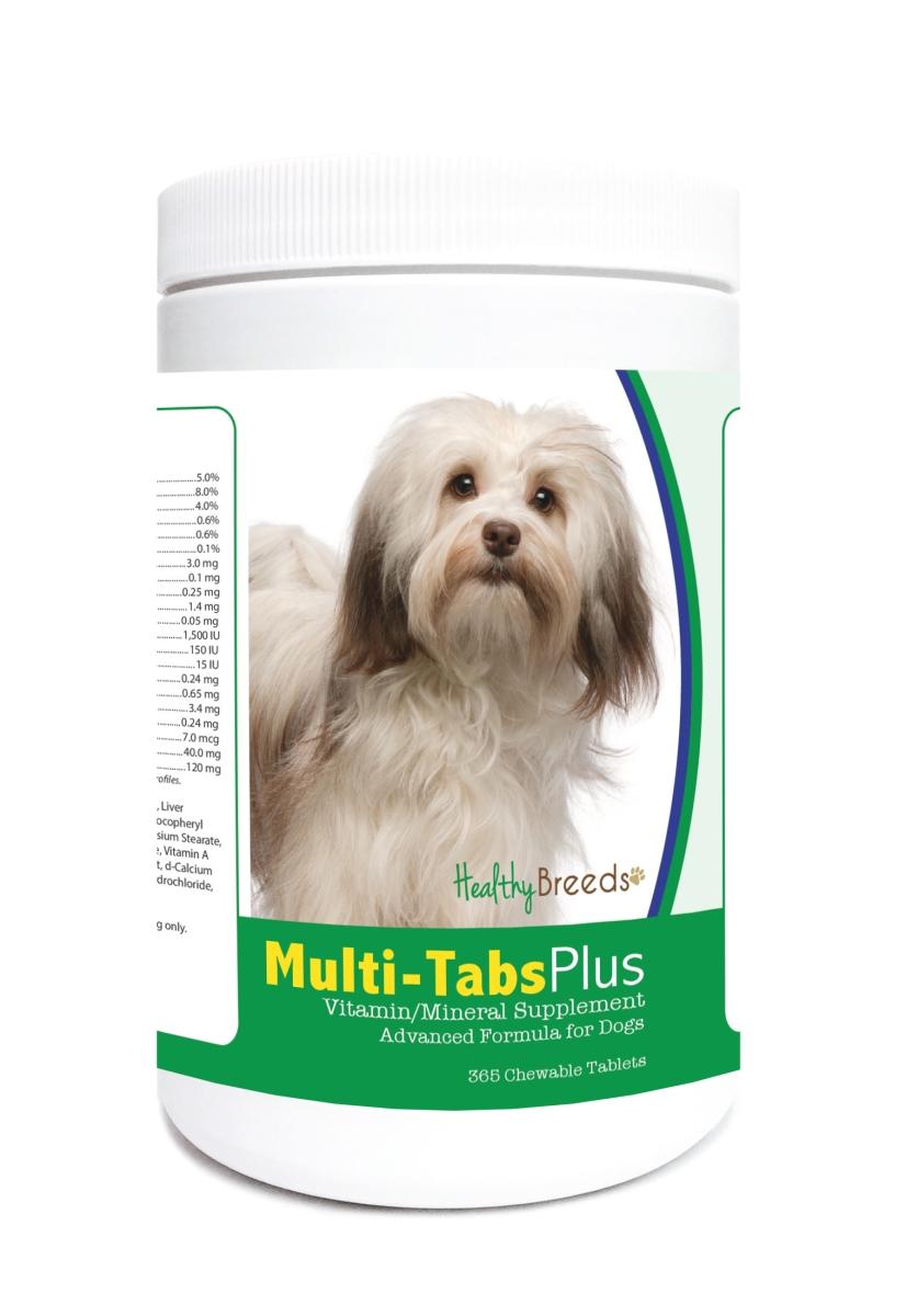 Healthy Breeds 840235122982 Havanese Multi-Tabs Plus Chewable Tablets - 365 Count