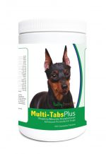 Healthy Breeds 840235123293 Miniature Pinscher Multi-Tabs Plus Chewable Tablets - 365 Count