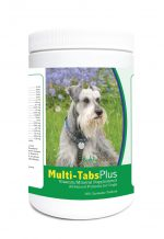 Healthy Breeds 840235123323 Miniature Schnauzer Multi-Tabs Plus Chewable Tablets - 365 Count