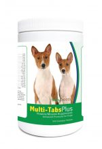 Healthy Breeds 840235123330 Basenji Multi-Tabs Plus Chewable Tablets - 365 Count