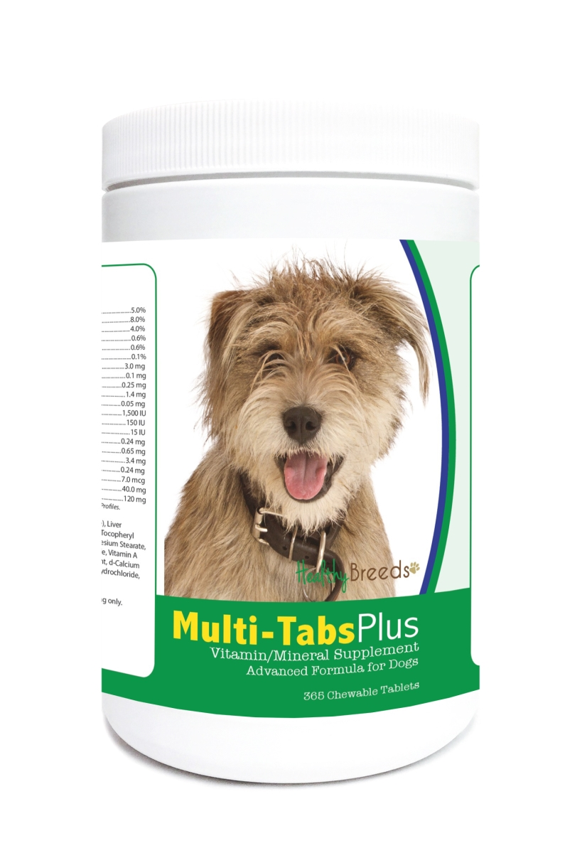 Healthy Breeds 840235123354 Mutt Multi-Tabs Plus Chewable Tablets - 365 Count