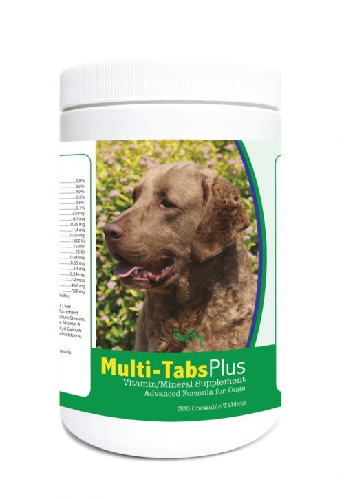 Healthy Breeds 840235123392 Chesapeake Bay Retriever Multi-Tabs Plus Chewable Tablets - 365 Count