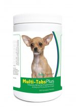 Healthy Breeds 840235123552 Chihuahua Multi-Tabs Plus Chewable Tablets - 365 Count