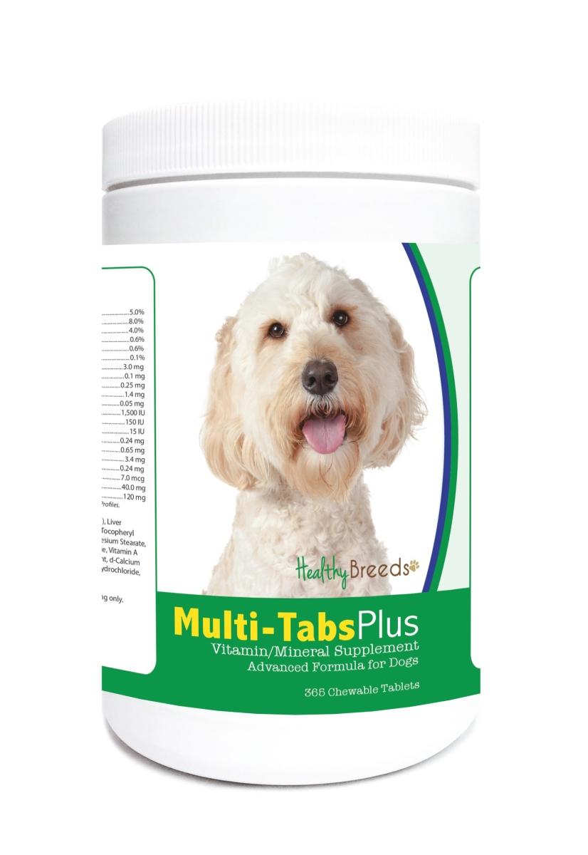 Healthy Breeds 840235123569 Labradoodle Multi-Tabs Plus Chewable Tablets - 365 Count