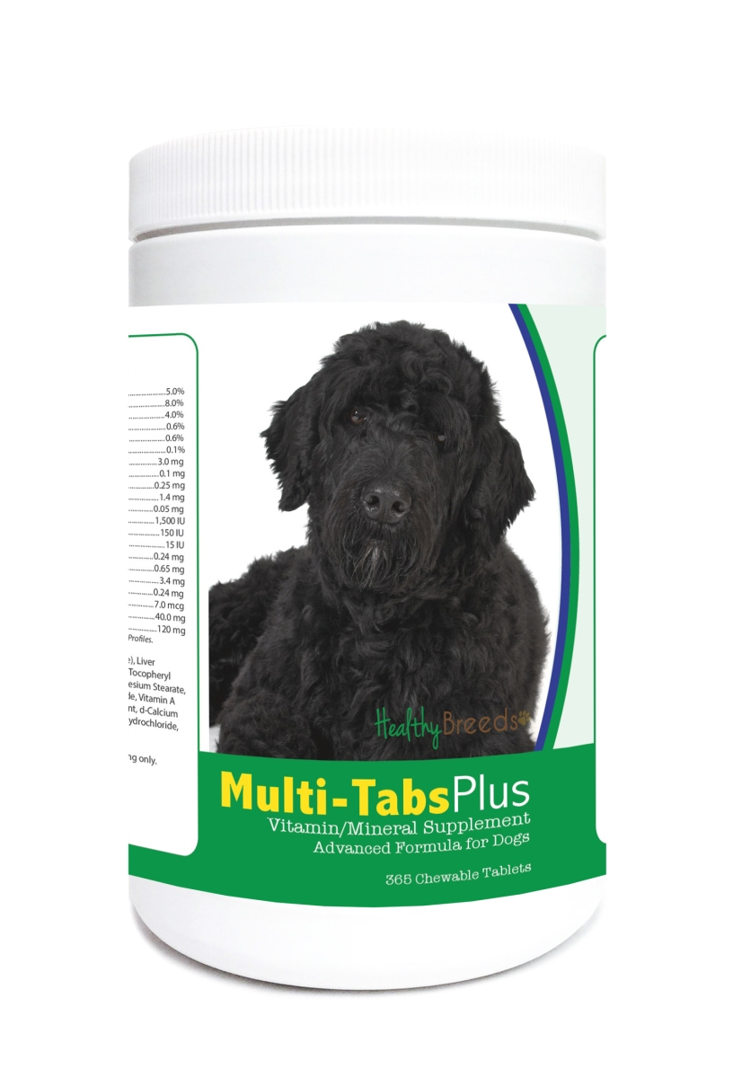 Healthy Breeds 840235123606 Portuguese Water Dog Multi-Tabs Plus Chewable Tablets - 365 Count