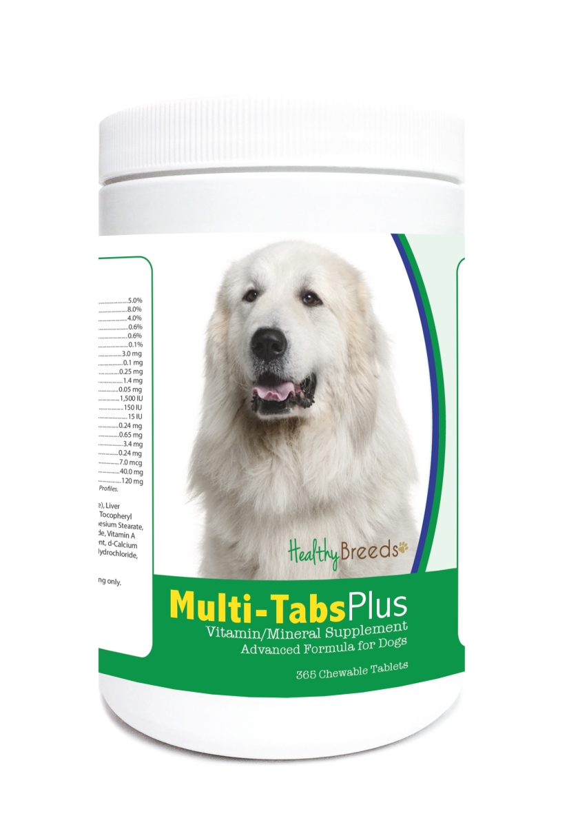 Healthy Breeds 840235124085 Great Pyrenees Multi-Tabs Plus Chewable Tablets - 365 Count