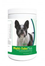 Healthy Breeds 840235124245 French Bulldog Multi-Tabs Plus Chewable Tablets - 365 Count