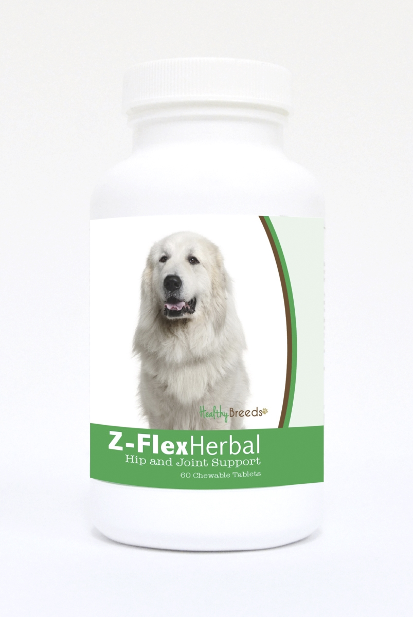 Healthy Breeds 840235124412 Great Pyrenees Natural Joint Support Chewable Tablets - 60 Count