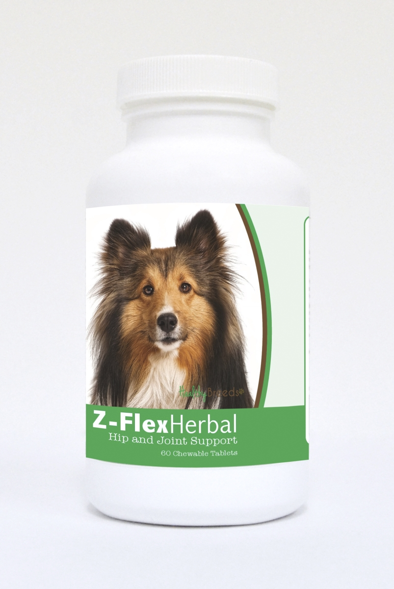 Healthy Breeds 840235124887 Shetl & Sheepdog Natural Joint Support Chewable Tablets - 60 Count