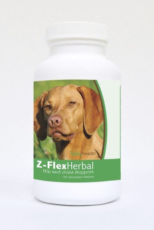 Healthy Breeds 840235126195 Vizsla Natural Joint Support Chewable Tablets - 60 Count