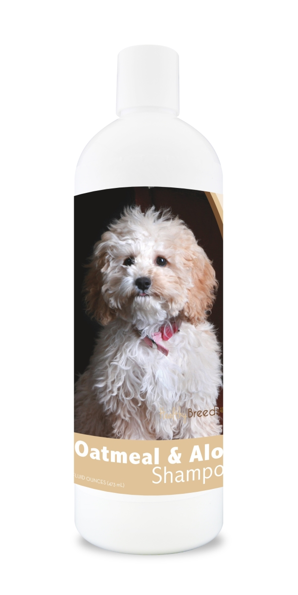 Healthy Breeds 840235131069 16 oz Cockapoo Oatmeal Shampoo with Aloe