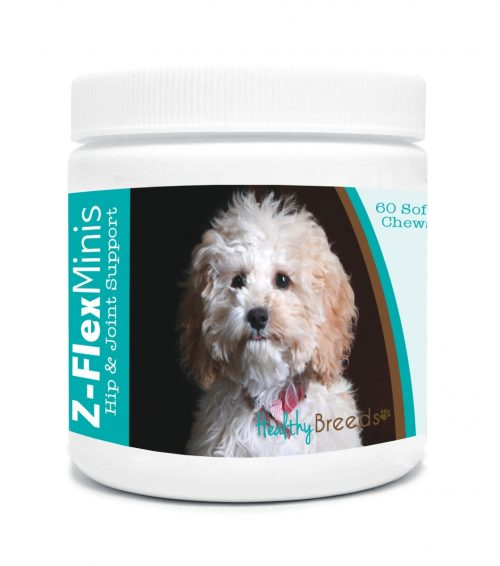 Healthy Breeds 840235136521 Cockapoo Z-Flex Minis Hip & Joint Support Soft Chews - 60 Count