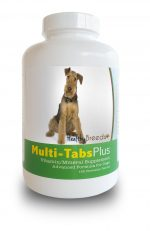 Healthy Breeds 840235139690 Airedale Terrier Multi-Tabs Plus Chewable Tablets - 180 Count