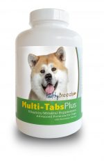 Healthy Breeds 840235139706 Akita Multi-Tabs Plus Chewable Tablets - 180 Count