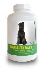 Healthy Breeds 840235139775 Bouvier des Flandres Multi-Tabs Plus Chewable Tablets - 180 Count
