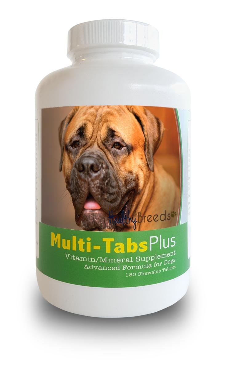Healthy Breeds 840235139850 Bullmastiff Multi-Tabs Plus Chewable Tablets - 180 Count